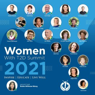 Have you seen the amazing speakers for the Women With T2D Summit, coming June 29?!  If you've ever been curious, or you're a friend or family member of someone living with Type 2 this is a great way to learn more about the challenges we face and how we overcome them. Although this focuses on women with Type 2, the lineup of amazing people has so much to share that can be beneficial to everyone. Did I mention that tickets are free?  Join me at this Virtual event and get inspired by people living well with T2D, Learn from 20+ of the top diabetes experts, and Create a lifestyle that achieves YOUR goals. You'll even get a cool pep talk from me! 😉  Grab your free ticket today 👉🏽 https://bit.ly/3zPelph or click the link in bio, and I'll see you there ;) . . . #type2diabetes #T2D #WWT2D #type2diabetesawareness #diabetescommunity #diabeteslife #selfcare #glucosecontrol #diabeticlife #diabetesawareness #bloodsugarmanagement #hormonebalance #type2diabetessucks  *The link provided is an affiliate link. If you use these links to buy something I may earn a commission. Thanks